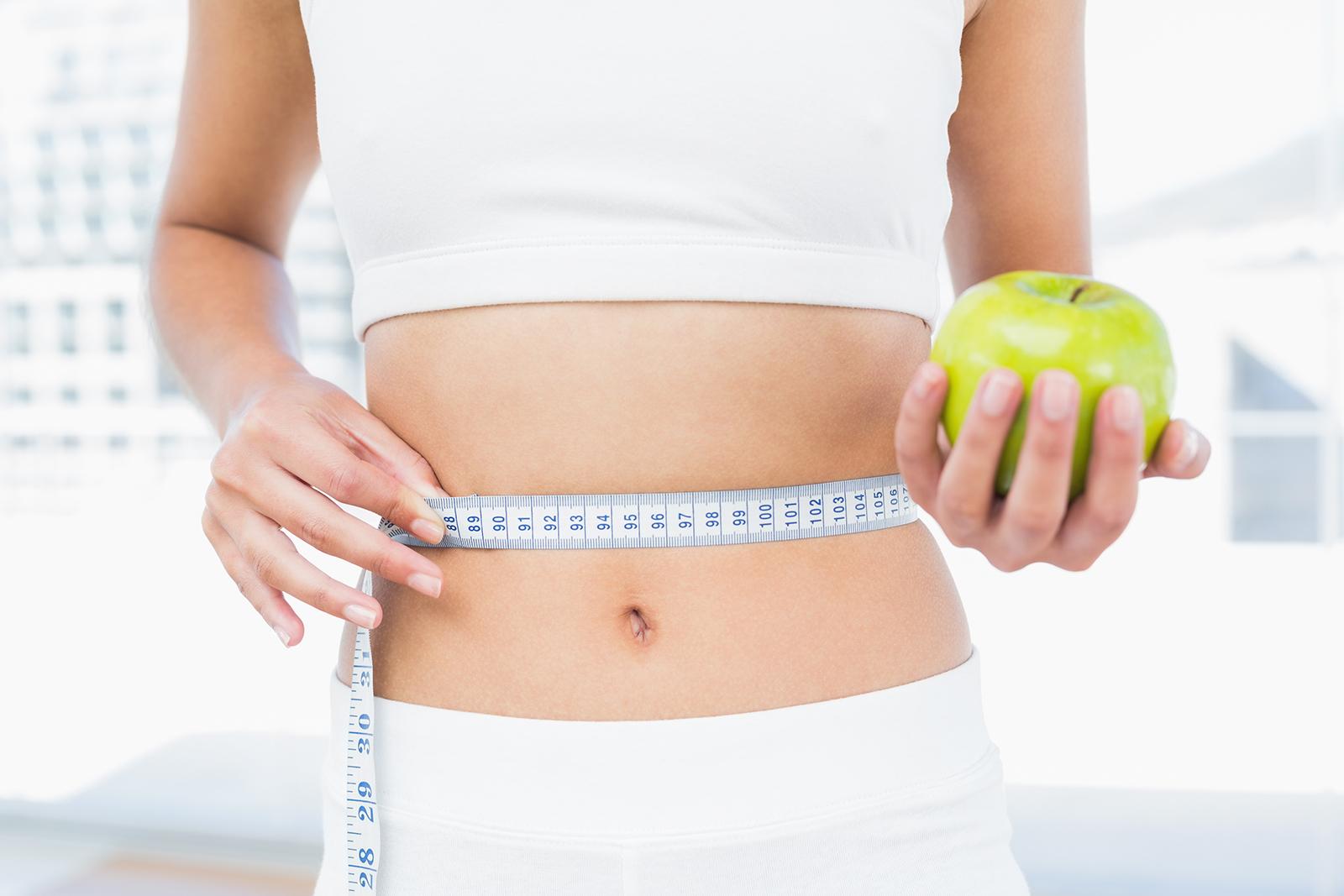 Selbstgemachtes Pflaster zur Gewichtsreduktion