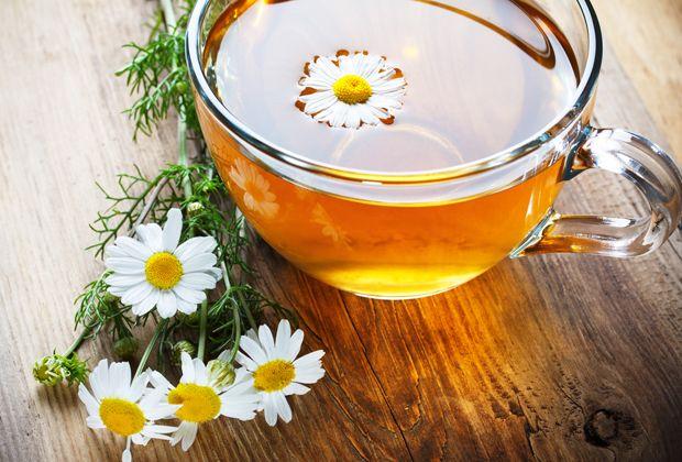 Tee Trinken Wohltuend Warmend Und Gesund
