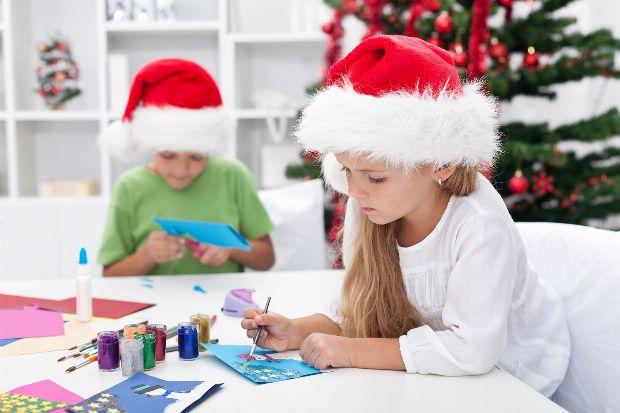 weihnachtsschmuck mit kindern basteln. Black Bedroom Furniture Sets. Home Design Ideas