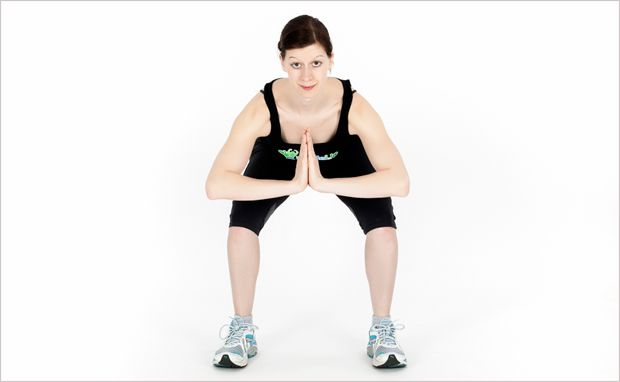 Fitnessübung Parallel-Squat