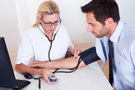 Bluthochdruck - hoher Blutdruck (Hypertonie) - Krankheit