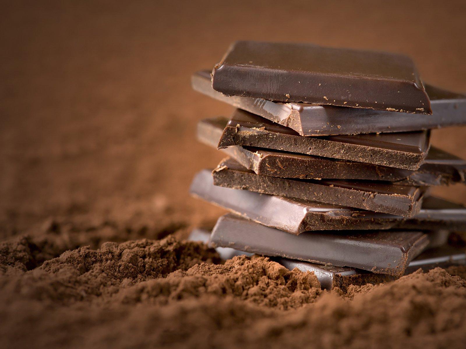 zartbitterschokolade kalorien
